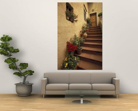 Tuscan Staircase, Italy Wall Mural