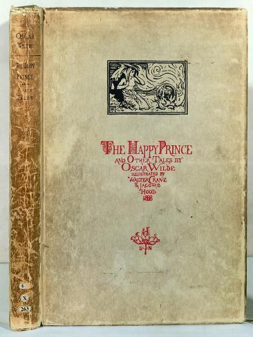 Titlepage of 'The Happy Prince and other Tales' by Oscar Wilde, 1888 Lámina giclée