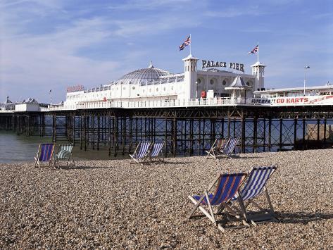 Palace Pier, Brighton, East Sussex, England, United Kingdom Photographic Print