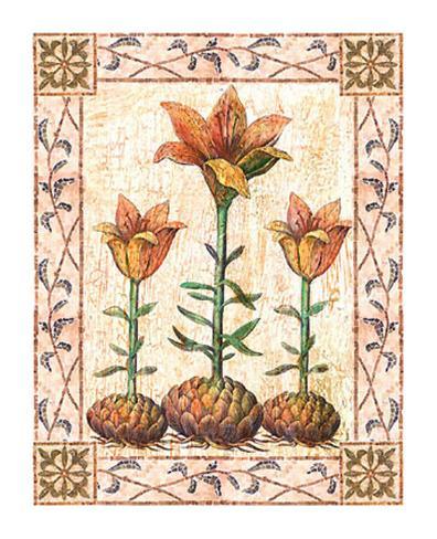 Provincial Lilium Art Print