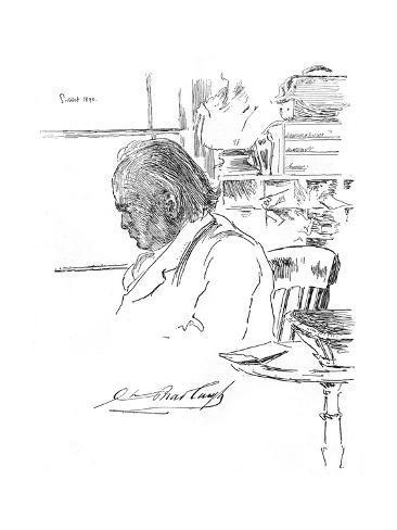 Bradlaugh Lámina giclée