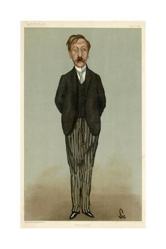 George Moore, VFair 1897 Lámina giclée