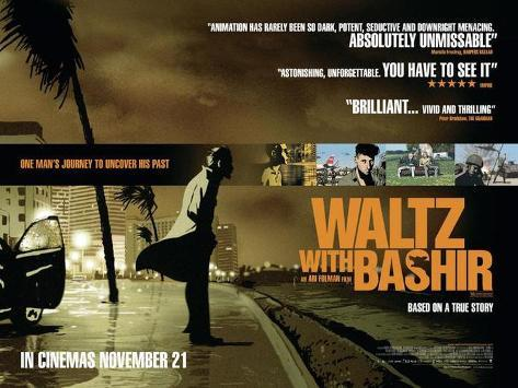 Waltz With Bashir Lámina maestra