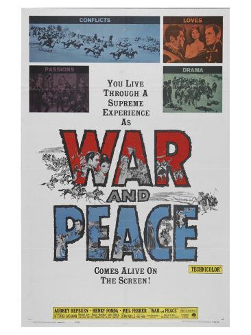 War and Peace, 1956 Premium Giclee Print
