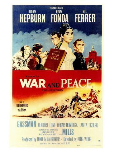 War and Peace, 1956 Art Print