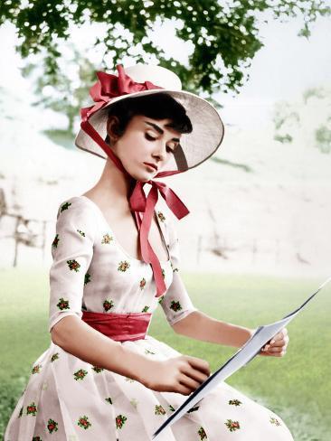 War and Peace, Audrey Hepburn, 1956 Photo