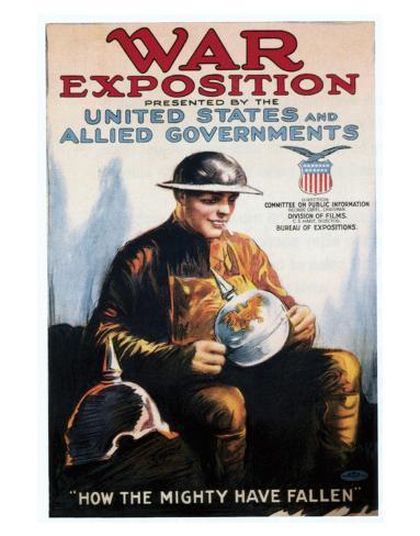War Exposition - 1918 Impressão giclée