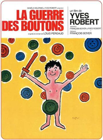 War of the Buttons French Style Movie Poster マスタープリント