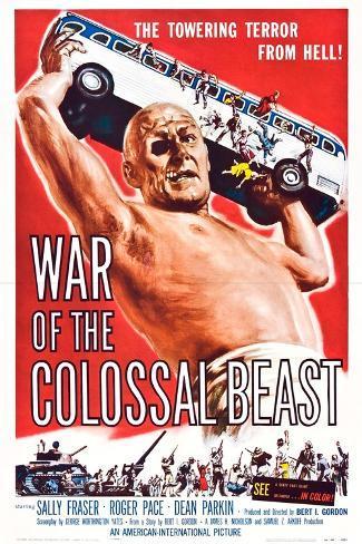 War of the Colossal Beast Art Print