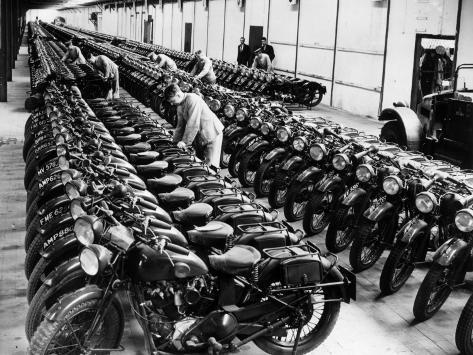 War Time Depot Photographic Print
