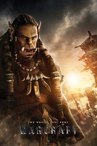 Warcraft- Durotan Poster
