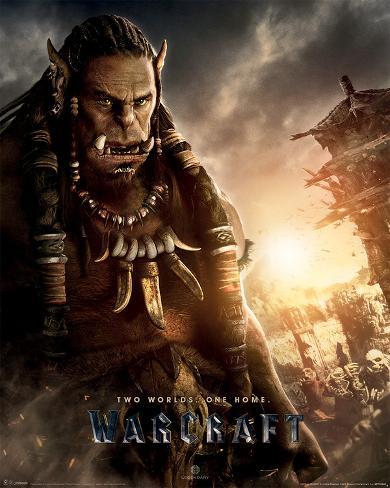 Warcraft- Durotan Mini Poster