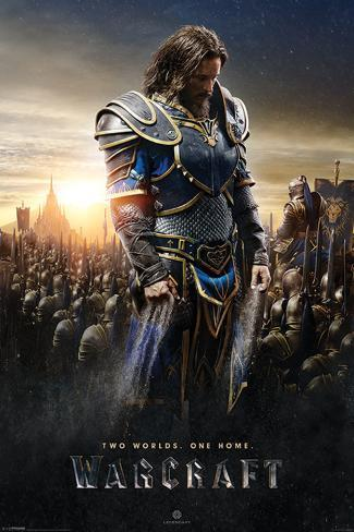 Warcraft- Lothar Poster