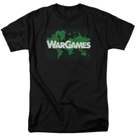 Wargames- Game Board Map T-Shirt