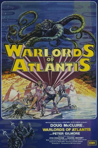 Warlords of Atlantis アートプリント