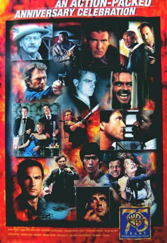 Warner Brothers Action オリジナルポスター