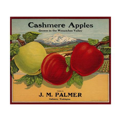 Warshaw Collection of Business Americana Food; Fruit Crate Labels, J. M. Palmer Taidevedos