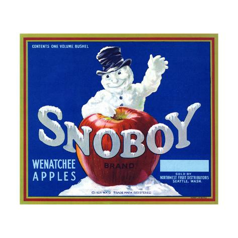Warshaw Collection of Business Americana Food; Fruit Crate Labels, Northwest Fruit Distributors Taidevedos