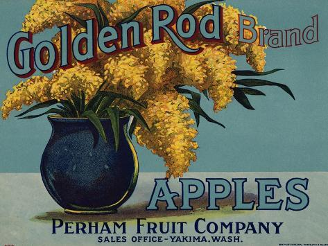 Warshaw Collection of Business Americana Food; Fruit Crate Labels, Perham Fruit Company Taidevedos