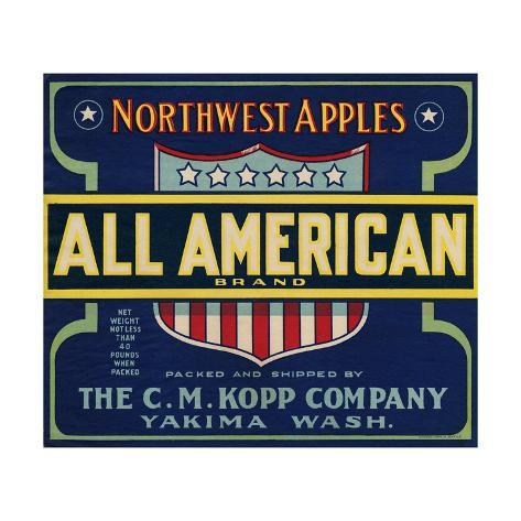 Warshaw Collection of Business Americana Food; Fruit Crate Labels, The C.M. Kopp Company Taidevedos