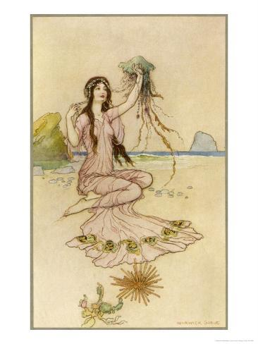 Fairy by the Sea Giclee Print