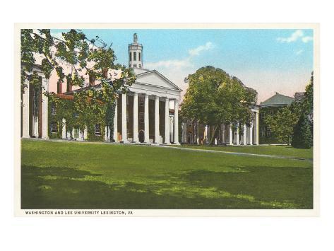 Washington and Lee University, Lexington, Virginia Art Print