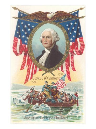 Washington Crossing the Delaware Art Print