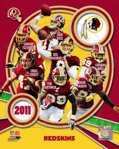 Washington Redskins 2011 Team Composite Photo