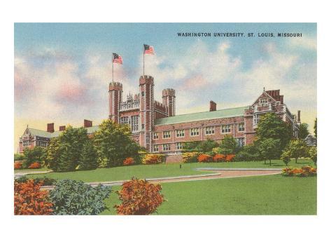 Washington University, St. Louis, Missouri Art Print