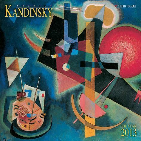 Wassily Kandinsky - 2013 Wall Calendar Calendars