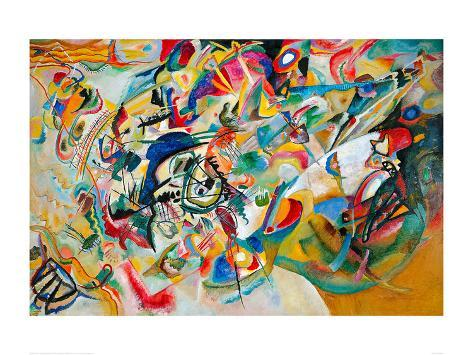 Composition VII, 1913 Giclee Print