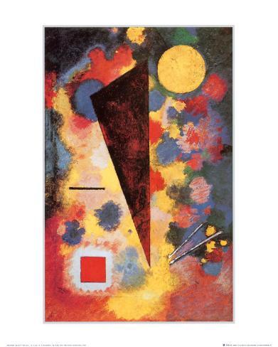 Multicolored Resonance, c.1928 Framed Art Print