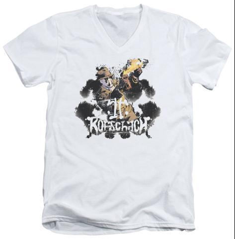 Watchmen - Rorschach V-Neck V-Necks