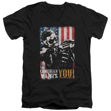 Watchmen - The Comedian Wants You V-Neck V-Necks