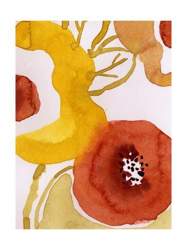 Watercolor Bouquet I Photo