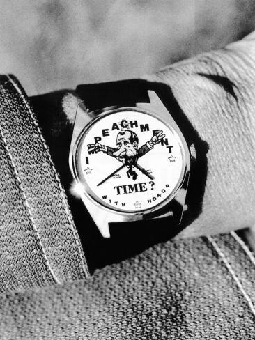 Watergate Souvenir Watch Stretched Canvas Print