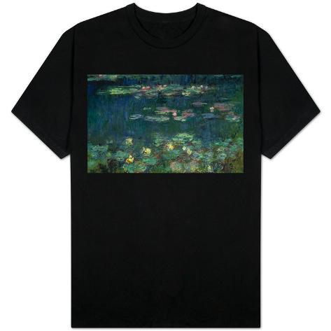 Waterlilies: Green Reflections, 1914-18 (Right Section) T-Shirt