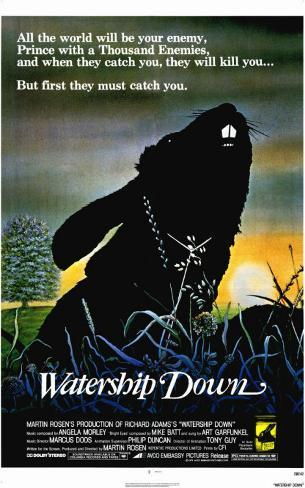 Watership Down Masterprint