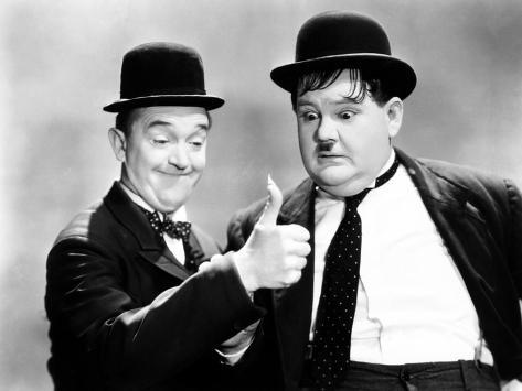 Way Out West, Stan Laurel, Oliver Hardy [Laurel and Hardy], 1937 Photo