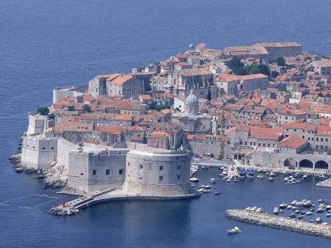 Old Wall City of Dubrovnik, Croatia Photographic Print