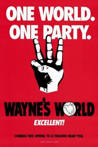Wayne's World Masterprint