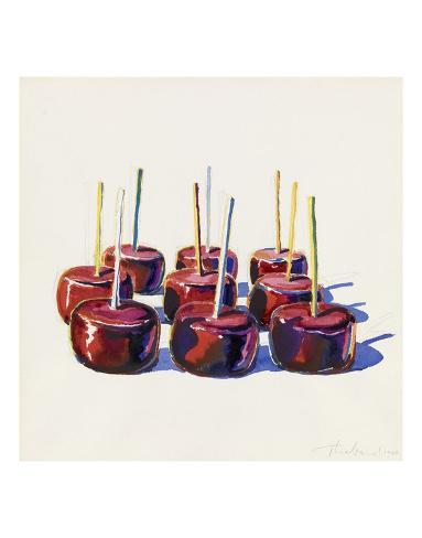 Nine Jelly Apples, 1964 Taidevedos