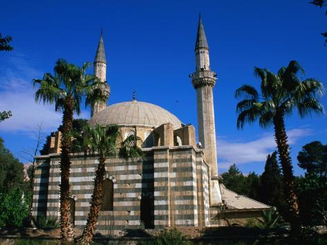 Takiyyeh As-Sulaymaniyyeh Mosque, Built by Sinan (1553), Damascus, Syria Photographic Print