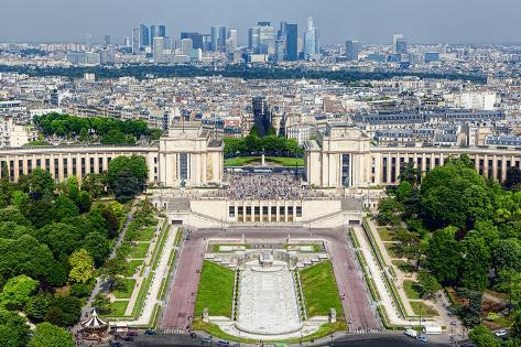 Paris, View from Eiffel Tower Photographic Print