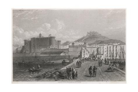 Naples, General 1850S Giclee Print
