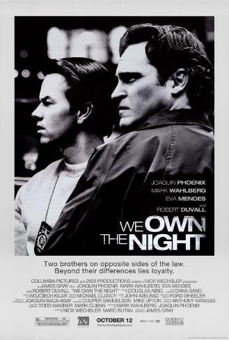 We Own The Night Original Poster