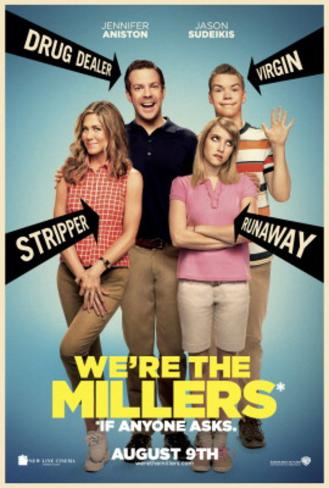 We're The Millers (Jason Sudeikis, Jennifer Aniston, Emma Roberts) Movie Poster Double-sided poster