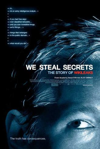 We Steal Secrets: The Story of WikiLeaks Movie Poster Poster