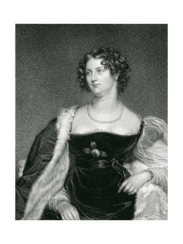 Lady Elizabeth Burke Giclee Print