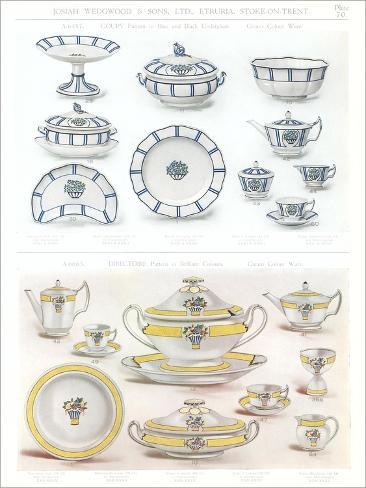 Wedgwood Etruria Ceramics  sc 1 st  AllPosters & Wedgwood Etruria Ceramics Art - AllPosters.co.uk
